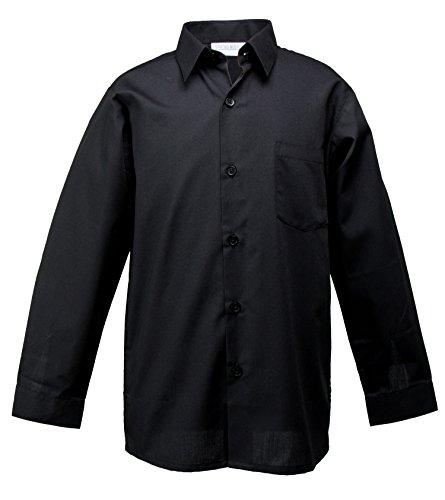 3t black long sleeve dress shirt - 4