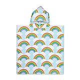 Rainbow Towel For Bath Beaches