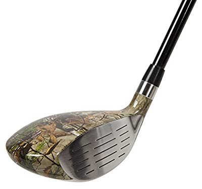 Pinemeadow Golf Men's Realtree Xtra Hybrid Club, Graphite, 5, 25-Degree, Regular, Right Hand