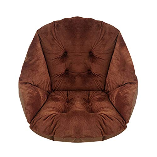 HB.YE Cojín para sillas de jardín, Cojín del Asiento con Respaldo, Cojines Decorativos para el hogar, Oficina, salón…