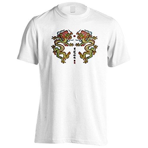 Neuer Segen Des Doppelten Drachen Herren T-Shirt l641m