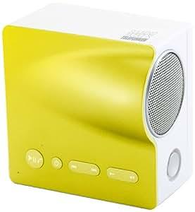 Telefunken Sound Mobile.Xs - Altavoz portátil Bluetooth de 2.5 W, amarillo