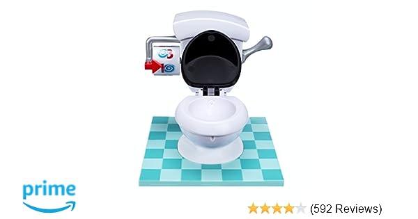 Toilet Pret Spel : Amazon hasbro toilet trouble game toys games