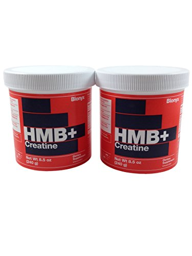 Blonyx Hmb+ Creatine, 240g/ea, (60 Servings Total) (2 Pack) by Hmb+ Creatine
