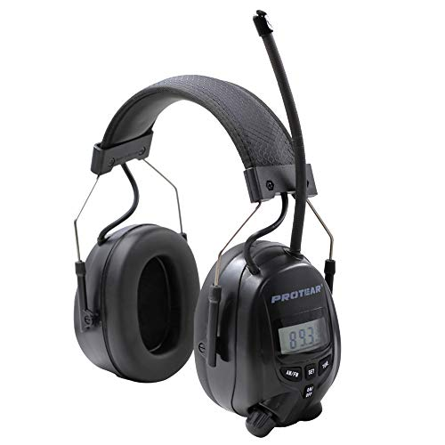 Protear FM/AM Radio Noise Reduction Headset,Protear Ear Defenders with Stereo Headphone Jack for Working/Mowing by PROTEAR (Image #2)