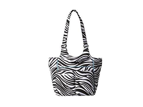 Dual Pocket Zebra - Ariat Women's Mini Carry All Zebra Stripe Print One Size