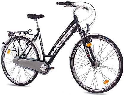 71.12 cm pulgadas LUXUS ALU City Bike bicicleta de trekking para ...