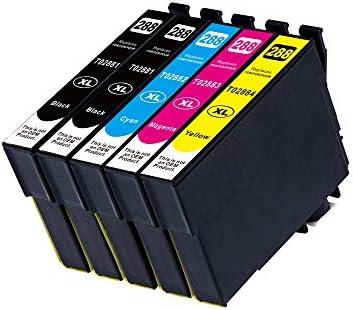 Zik 5 Pack cartucho de tinta compatible para Epson 288 288 x l de repuesto para EPSON