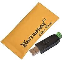 Baitaihem USB to RS485 USB-485 Converter Adapter CH340 Chip Support WindowsXP Vista Windows 7/8 and 64-bit Win7 Win10