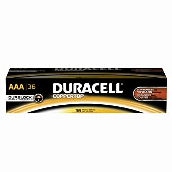 Amazon.com: Duracell Professional MN24P36 Coppertop AAA
