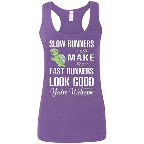 Slow Runners Make Fast Runners Look Good You're Welcome Tank Top - Perfect Tank Top for Women - Gift for Her, Mom, Girls
