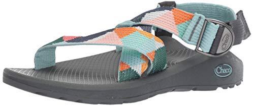 Antimicrobial Athletic Sandals - Chaco Women's Mega Z Cloud Sandals, Multi, 8 M