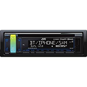 JVC KD-R988BTS CD Receiver with Bluetooth and SiriusXM Ready