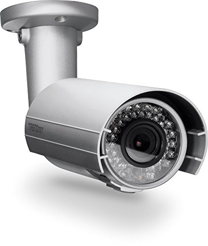 - TRENDnet Indoor/Outdoor Vari-Focal Bullet Style PoE IP Camera, 2MP, 1080p, 3.5 x Optical Zoom, IP66 Weather Rated, 82 ft. Night Vision, Free Android & iOS App, ONVIF, TV-IP343PI