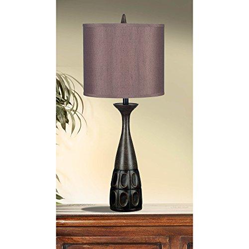 Jules One Light Table Lamp in Mahogany Bronze