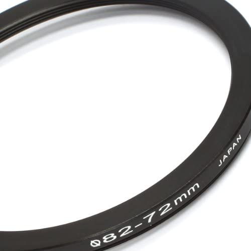 82mm Lens to 72mm Accessory Pixco 82-72mm Step-Down Metal Adapter Ring