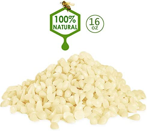 YIH 1 lb White Beeswax Pellets 100 product image
