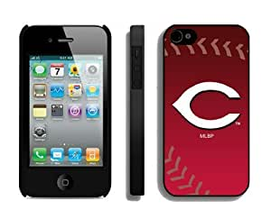 Best Iphone 4/4s Case Cover Cincinnati Reds Coolest Phone Protector by lolosakes