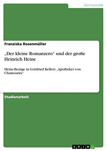 """auf großhandel hell im Glanz 100% Zufriedenheit Amazon.com: """"Der kleine Romanzero"""" und der große Heinrich ..."""