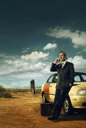 BETTER CALL SAUL - US Textless Teaser Imported Movie Wall