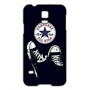Unique Style 3D Hard plastic Converse All Star Chuck Taylor Phone Case Cover for Samsung Galaxy S5mini Case_Black