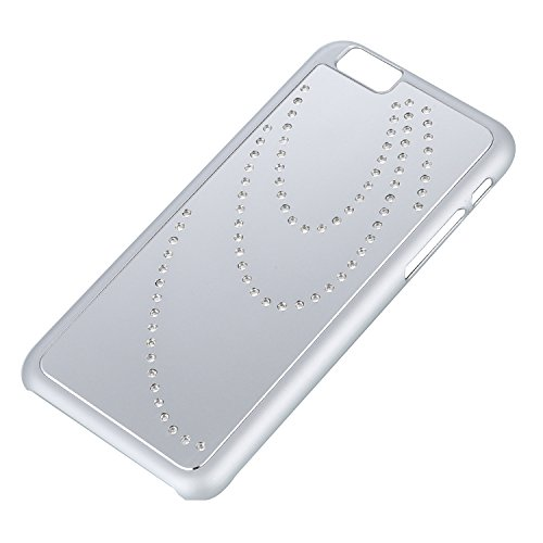 """RE:CRON® iPhone 6 (4,7"""") sichere Schutzhülle Strass-Case - Silber"""