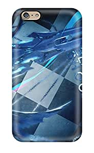 Jim Shaw Graff's Shop 7036562K59343314 Fashion Protective Black Rock Shooter Case Cover For Iphone 6