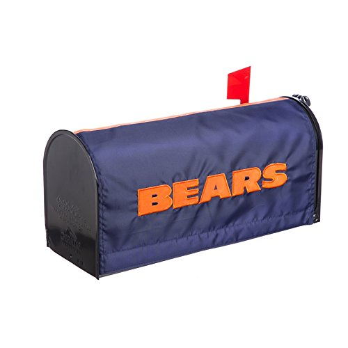 Cover Mailbox Team (Team Sports America NFL Chicago Bears Mailbox Cover, Blue)