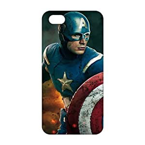 Real-Fashion the avengers captain america and thor (3D)Phone Case for iPhone 6 plus(5.5)