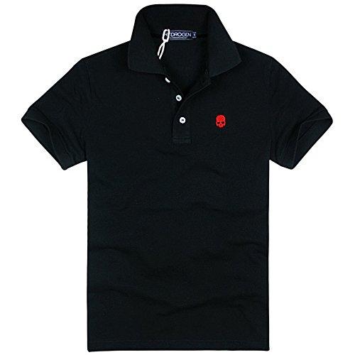 HYDROGEN ポロシャツ メンズ ゴルフ コットン 綿 100% 半袖 夏 プリント18722399 [並行輸入品]