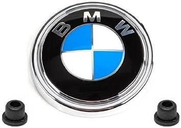 Genuine BMW E83 X3 Rear Hatch Emblem w// Mounting Grommets Brand New