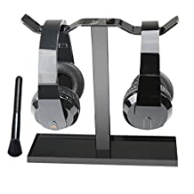 MOCREO® Headphone Hanger/ Headphone Stand (Black)