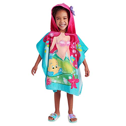 Disney Ariel and Flounder Hooded Towel for Kids Multi]()