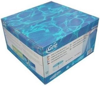Gre - Liner Azul 730 X 375 X 132 Cm Con Pefil Extrusin Soldado Gre