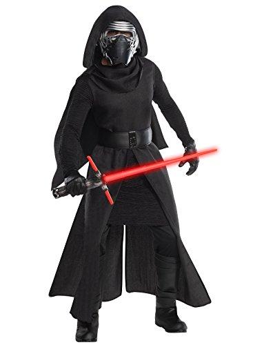 [Star Wars Men's Episode Vii: the Force Awakens Grand Heritage Kylo Ren Costume, Multi, Standard] (Ren Costumes)