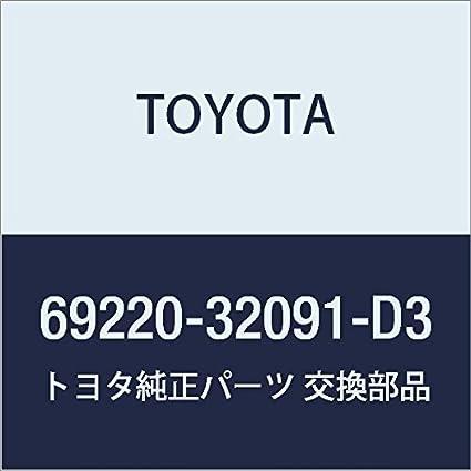 Handle Assy Fr Door 69220-32091-D4 Genuine Toyota Parts