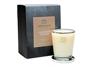 Anderson Lilley 12 Oz Luxe Bougie Parfumee Dans Un Verre Decorative