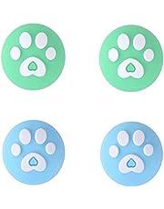 Cat Paw Silicone Thumb Grip Caps, schattige joy-stick cap voor Nintendo Switch & Lite, vervangende afdekking van zachte siliconen voor Joy-Con Controller - 4 stuks