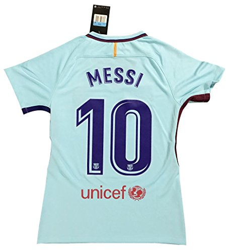 VVBSoccerStore New  10 Messi 2017 2018 Women s Barcelona Away Jersey (Large) 7d693620eb
