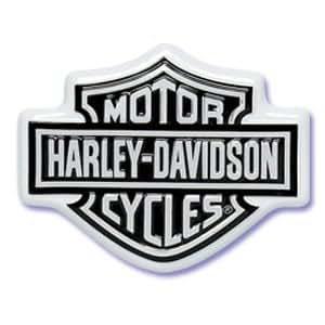 Harley Davidson Logo Sculpted Cake Topper