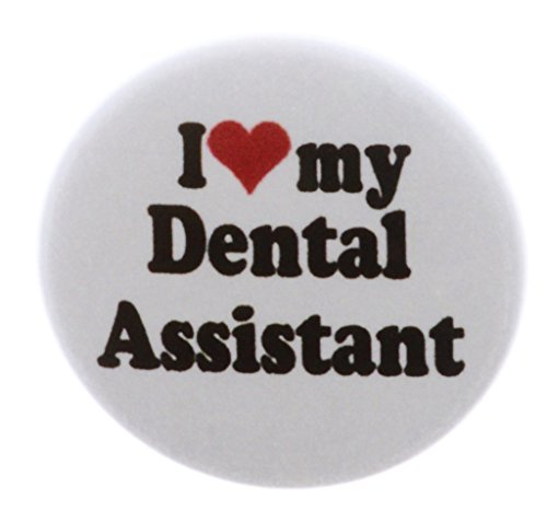 A&T Designs I love my Dental Assistant 2.25″ Keychain Dentist Office Teeth