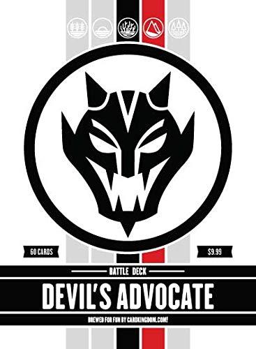 Devil's Advocate Battle Deck. Magic The Gathering MTG Preconstructed Black Red Deck. 60 Cards.