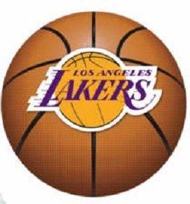 - Los Angeles Lakers FATHEAD Basketball Logo Official NBA Vinyl Wall Graphic 15