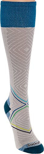 Price comparison product image Sockwell Women's Pulse Graduated Compression Socks, Small/Medium, Natural