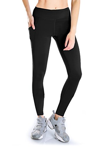 Yogipace Petite/Regular/Tall Length Women's Side Pockets Running Cycling Yoga Workout Leggings