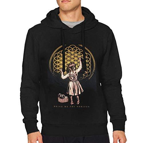 IkedaEriko Men Bring Me The Horizon Music Band Long Sleeve Loose Hooded Comfortable Sweatshirts 3XL