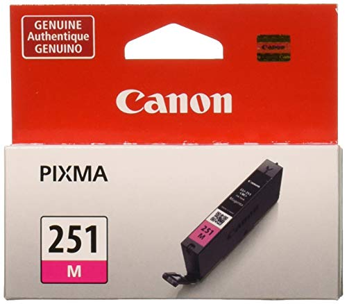 Canon 6515B001 (CLI-251M) Ink, Magenta (Magenta Canon 251)