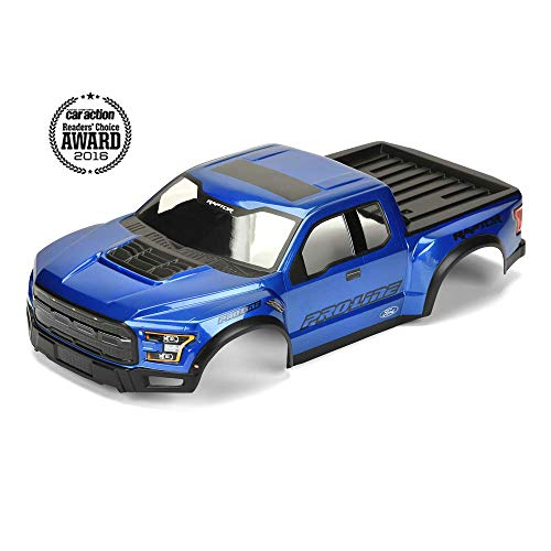 - Pro-line Racing 1/10 2017 F-150 Raptor True Scale Body, Blue, (Mount Kit Required), PRO346113