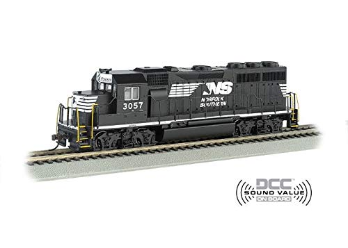 GP40 Dcc Sound Value Equipped Diesel Locomotive - Norfolk Southern #3057 - N Scale