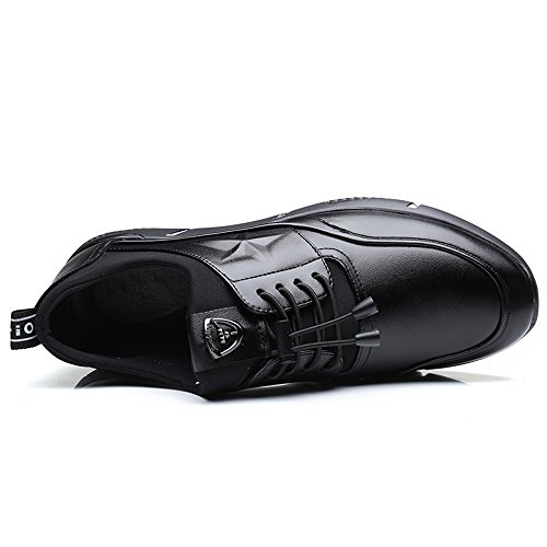 Fodera Ginnastica Up Loafer Comfort con Flat Nero da Scarpe da Lace Scarpe Heel per Cricket Uomo Sottopiede Leisure Fqzq5Sw